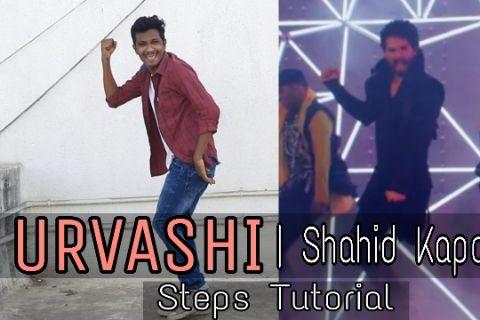 Urvashi | Shahid Kapoor | Dance Steps