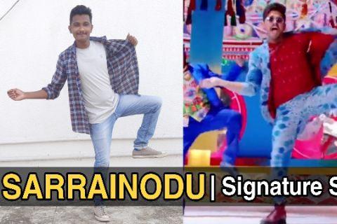 Sarrainodu | Signature Steps | Allu Arjun
