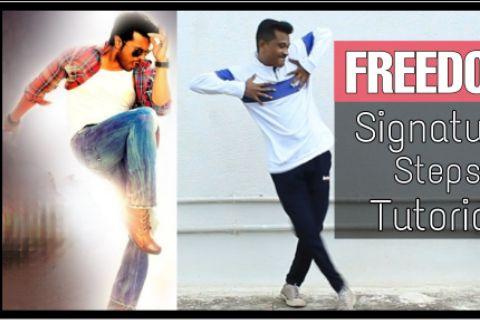 Freedom | Ram Charan | Signature Steps | Yevadu
