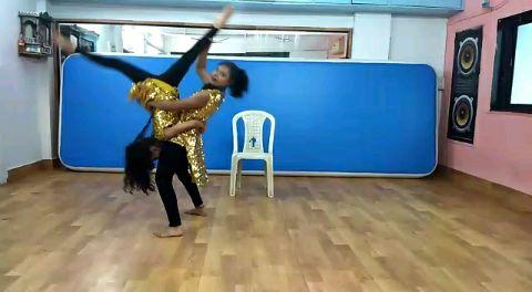 Jazz with a twist | Duet Dance | Sairaat.
