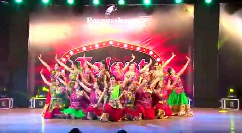 Dhol baje.. Bollywood dance medley by ladies above 30 years.