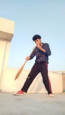 """JHADU WALA DANCE"" ❤😆😘 #propdancecontest"