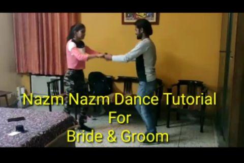 Nazm Nazm Couple Dance | Urooj & Swati