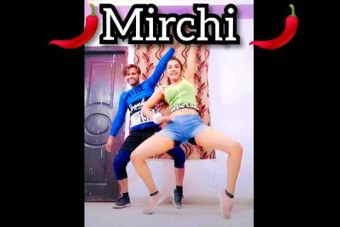 Mirchi 🌶️ Dance   Urooj & Swati