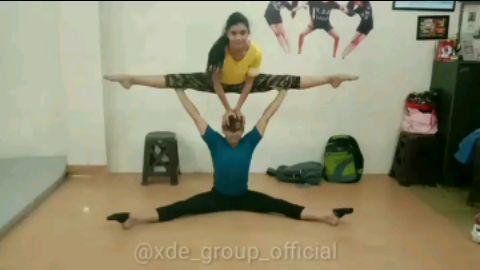 Acrobatics Act | Urooj & Swati