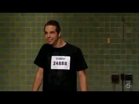 Robert amzing popping dance