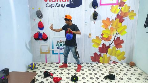 Ultimately Cap trick Dance Style U have never Seen Before This Talent