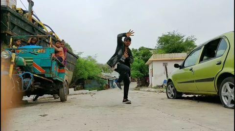 city slums Raja kumari divine choreographer Hardik Dharmendra