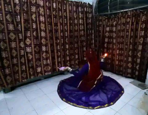 Subarna Mondal | dance on the song Ghoomar