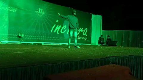 Special Performance   Shubham Nimbadker