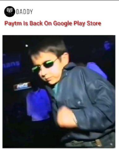 Paytm back😂😂