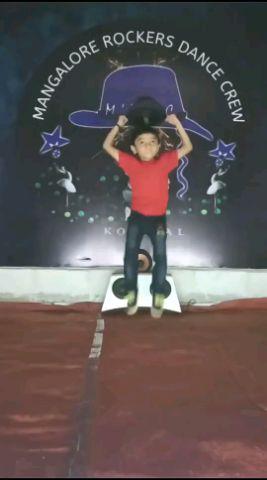 dancer Rishik N poojary