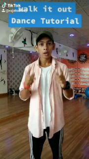 walk it out ( Hip-Hop Dance Move) tutorial By Rajat sdrboy