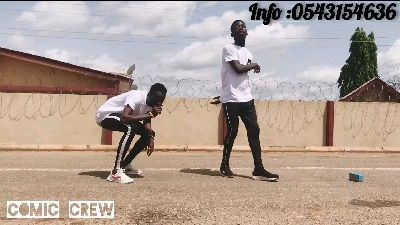 New dance from New Kids in Ghana