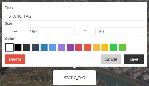 Static tag