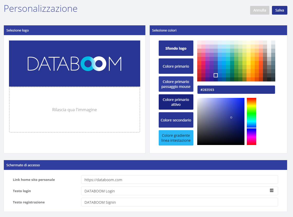 Customization (PRESTIGE) – Databoom