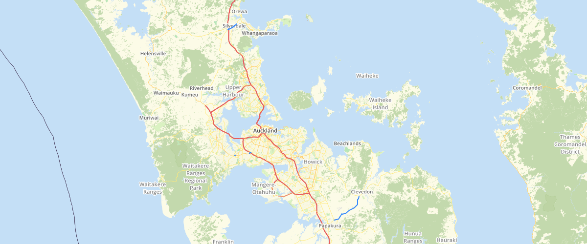 Auckland Freight Routes - Auckland Transport