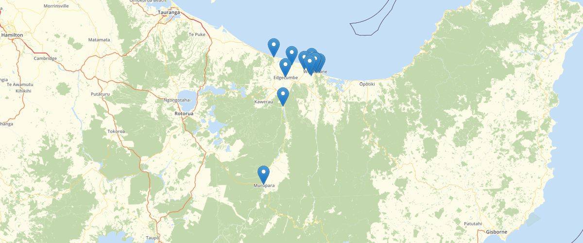 BoP Stormwater Points Whakatane District Council