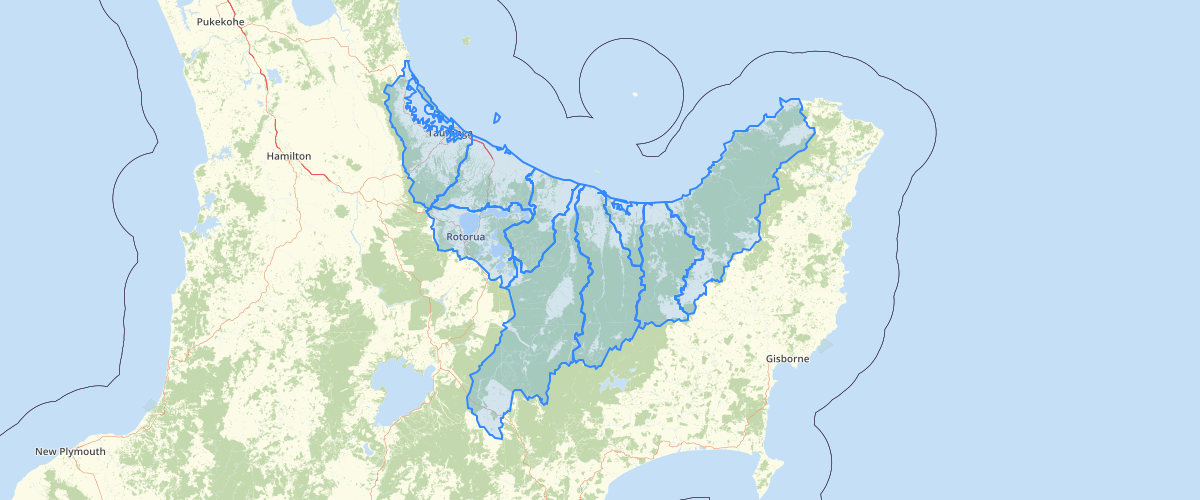 BoP Water Management Areas