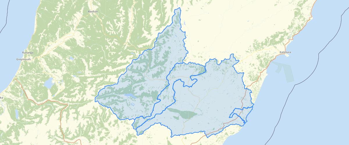 Canterbury - Hurunui Waiau River Regional Plan - Development Zones