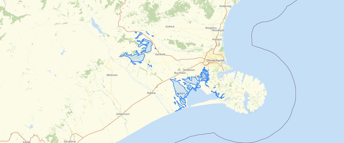 Canterbury - LWRP - Phosphorus Sediment Risk Area