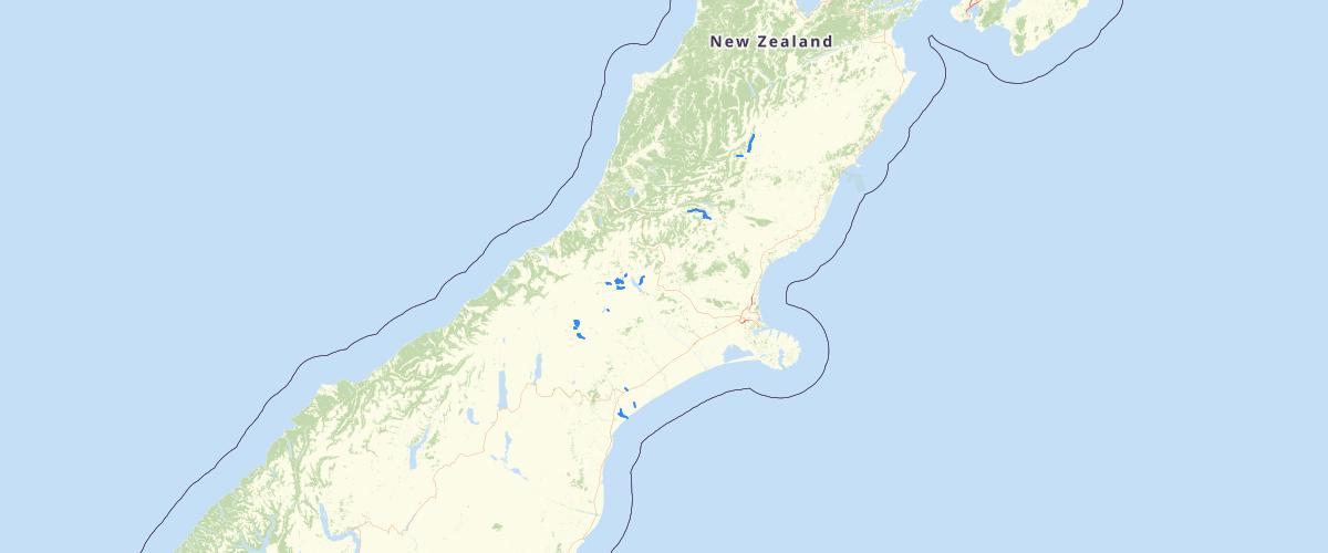 Canterbury - LWRP - Salmon Spawning Sites