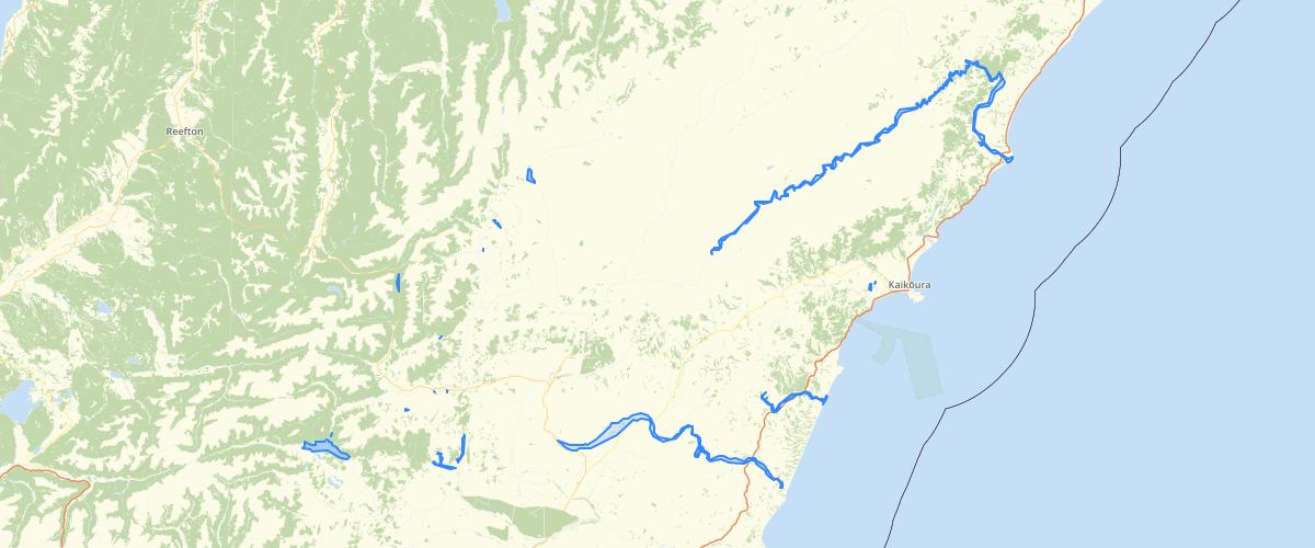 Canterbury - Native Bird River and Open Water Habitat