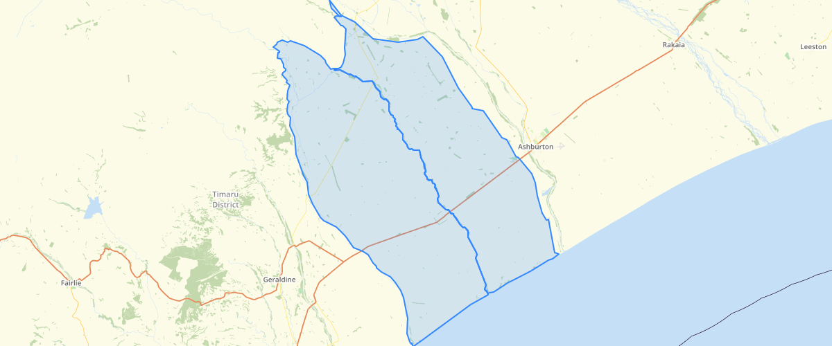 Canterbury - Plan Change 2 LWRP - Groundwater Allocation Zones