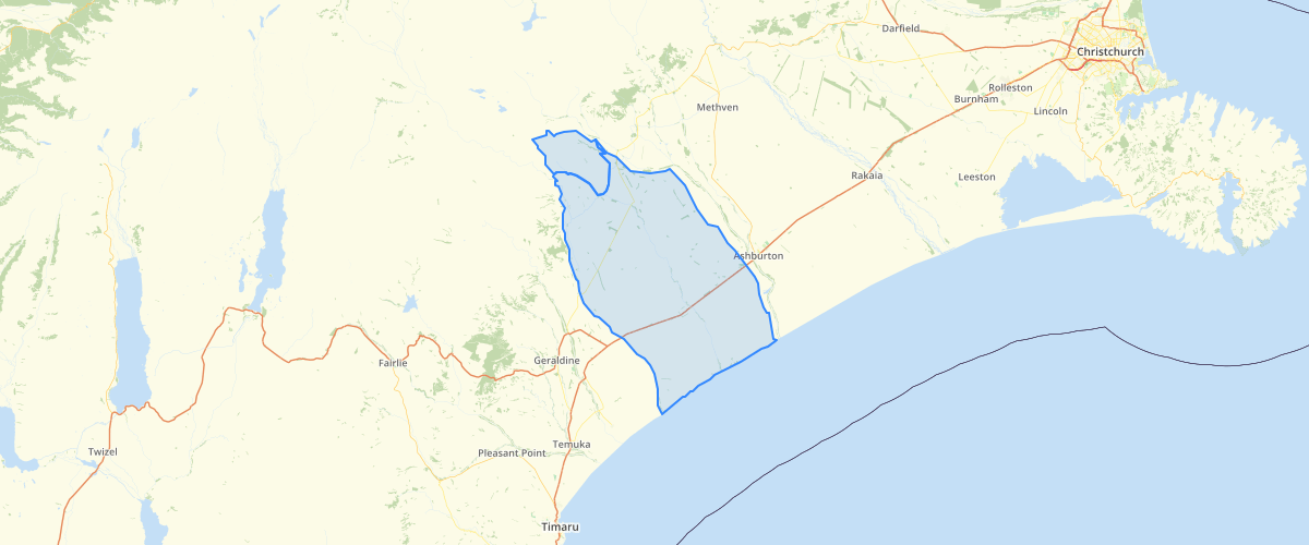 Canterbury - Plan Change 2 LWRP - Upper and Lower Hinds Hekeao Plains Area