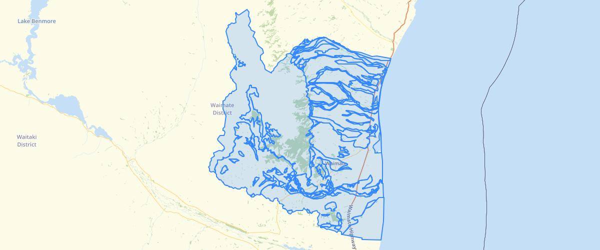 Canterbury - Plan Change 3 LWRP - Area of Soils