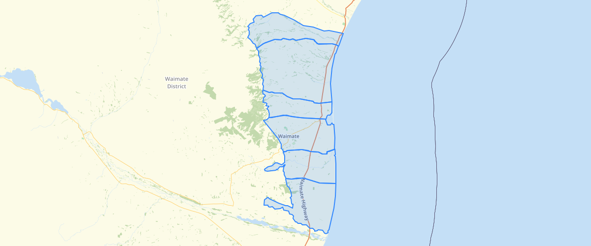 Canterbury - Plan Change 3 LWRP - Groundwater Allocation Zones