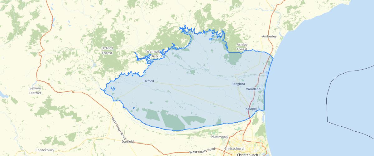 Canterbury - Plan Change 7 - Ashley-Waimakariri Plains Area