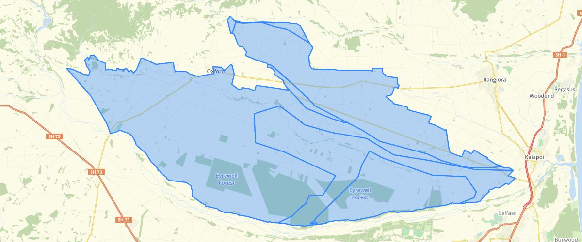 Canterbury - Plan Change 7 - Nitrate Management Area - Waimakariri