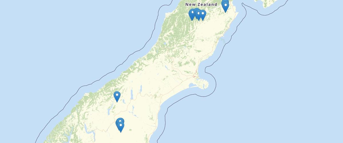 Canterbury - Rainfall Monitoring Sites