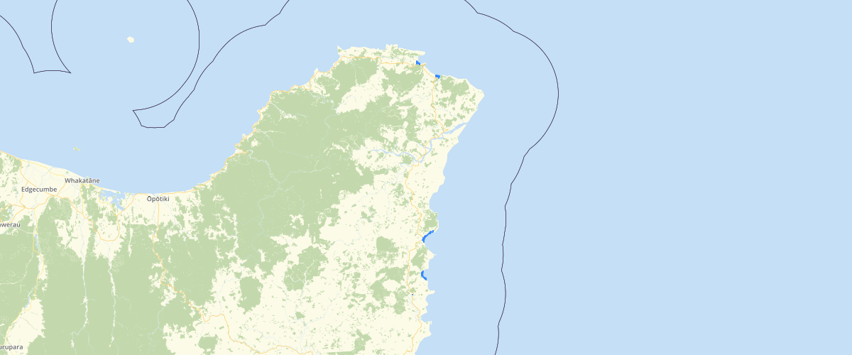 Gisborne - Sea Level Rise - Aep 1 pct 140