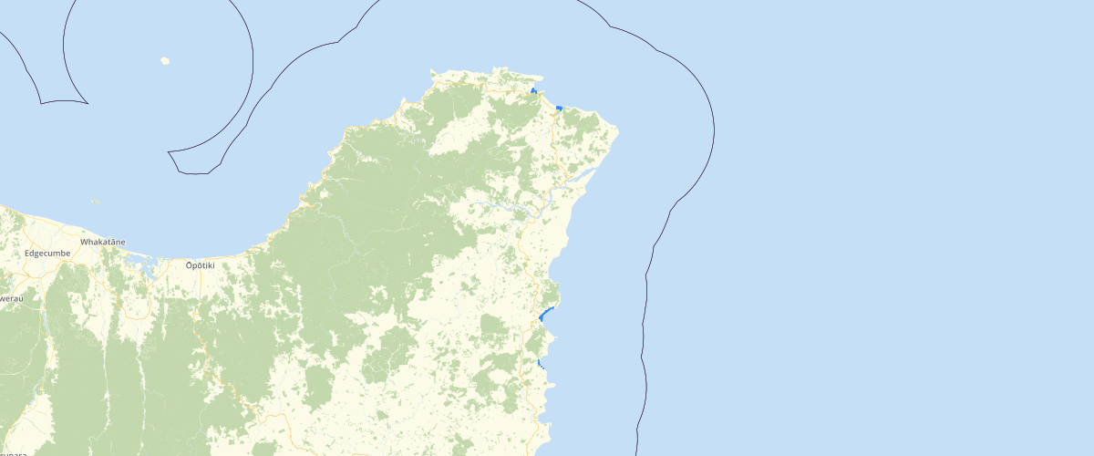 Gisborne - Sea Level Rise - Aep 1 pct 180