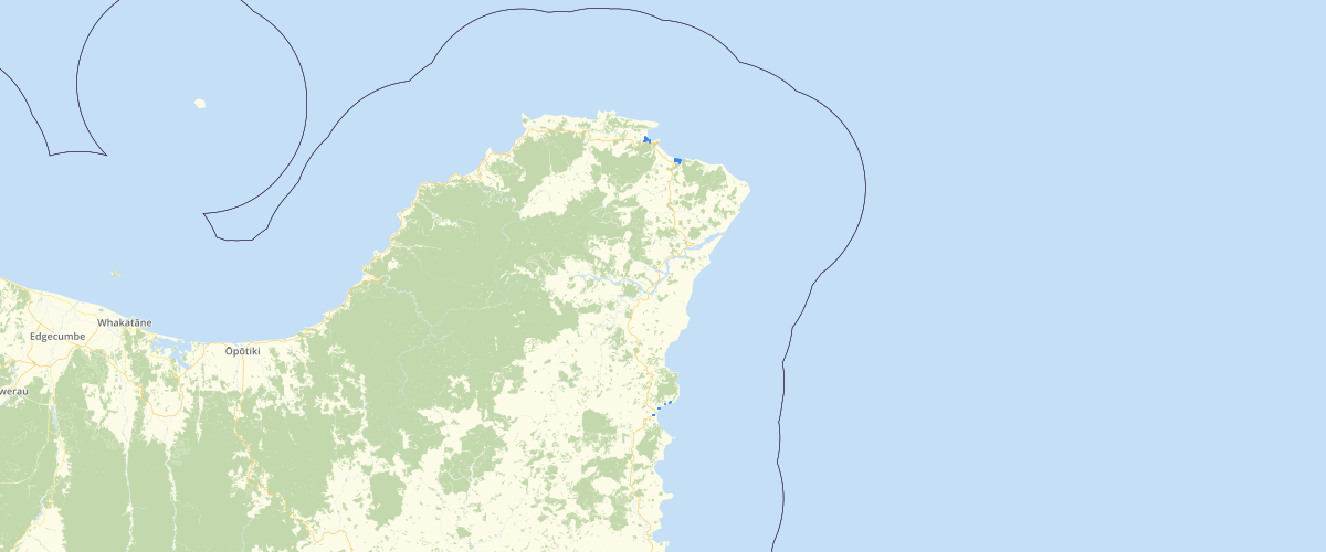 Gisborne - Sea Level Rise - Aep 1 pct 290
