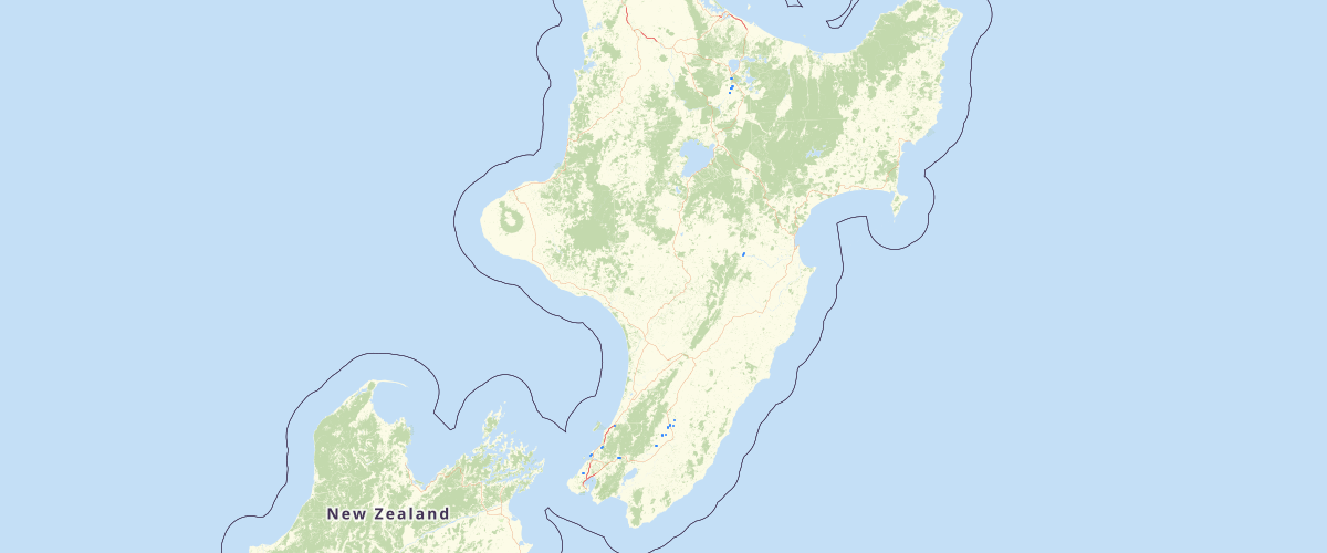 GNS NZ Active Faults Database Layer NZAFD