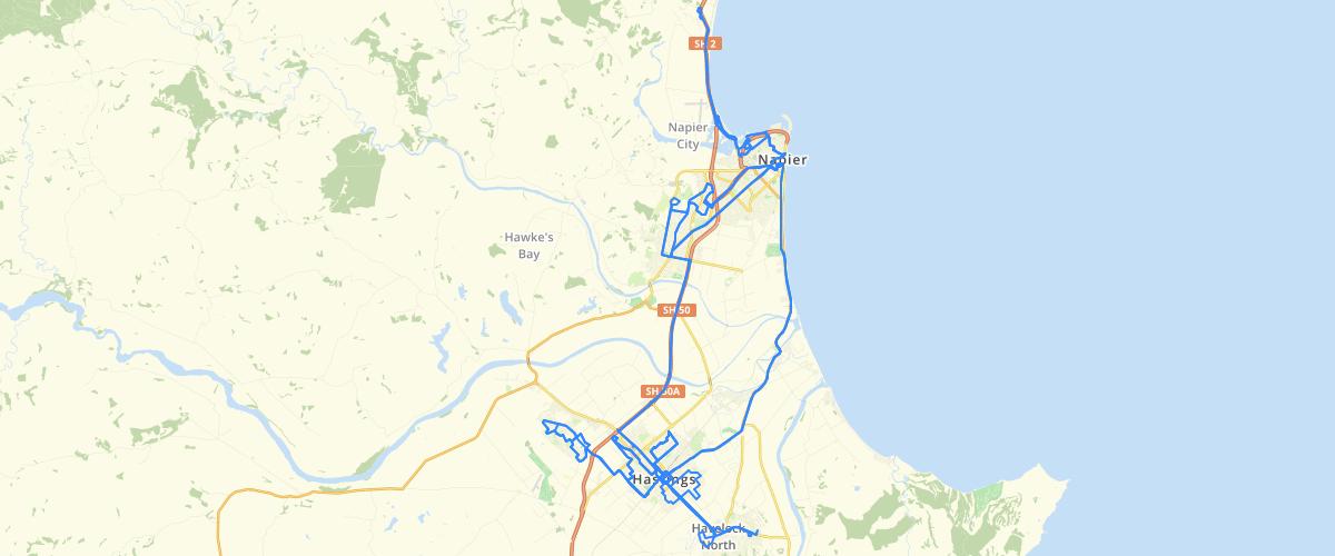 Hawkes Bay Bus Routes - Hawkes Bay Regional Council