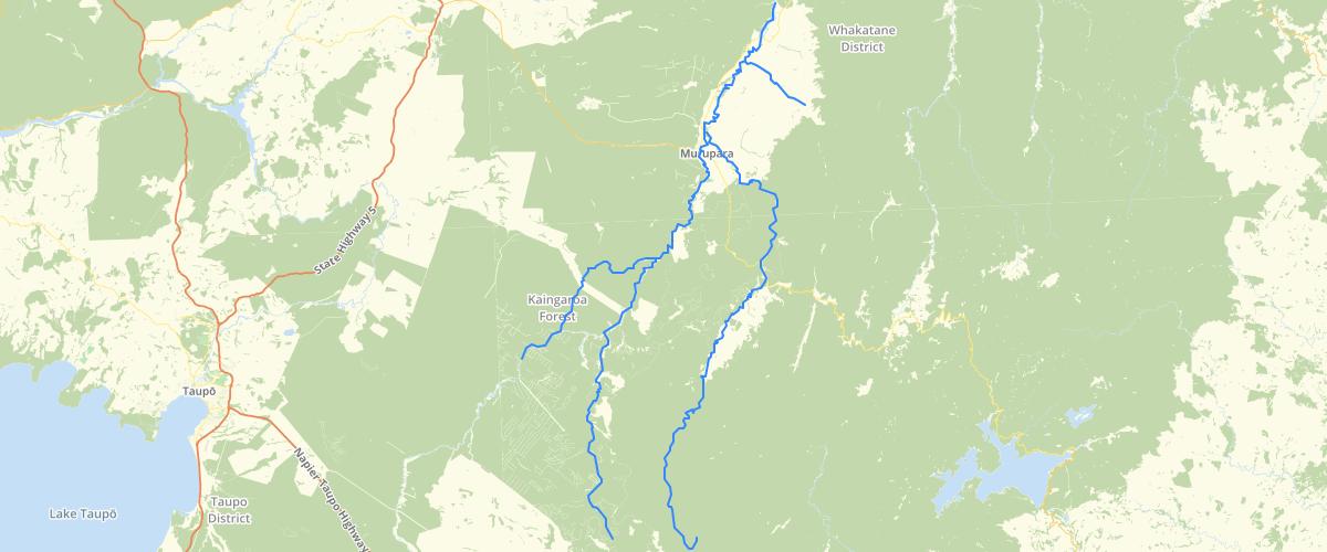 Hawkes Bay Ngati Manawa Rivers