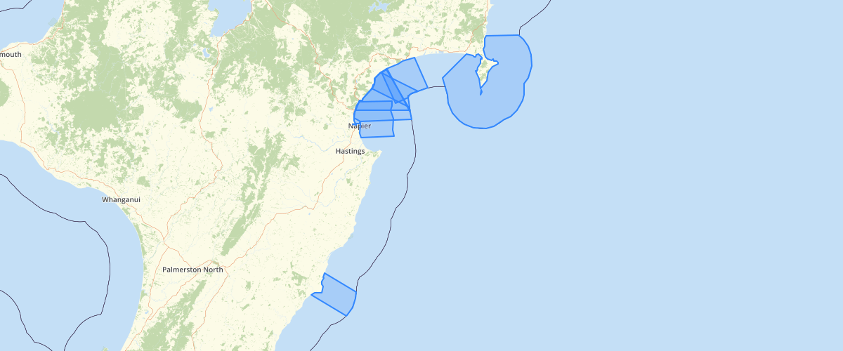 Hawkes Bay Takutai Moana Areas - Hawkes Bay Regional Council