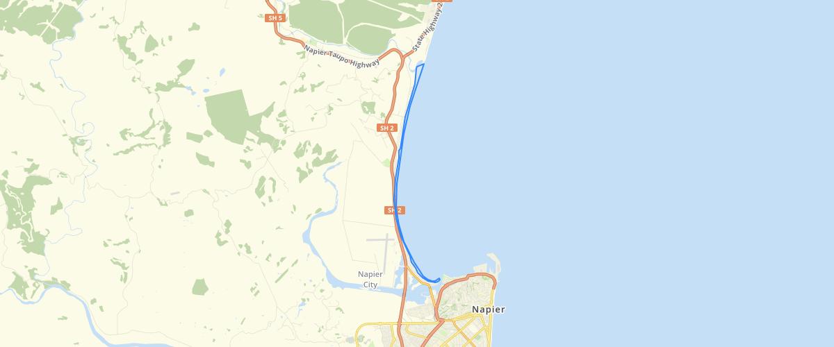 Hawkes Bay Westshore Esk Coastal Hazard