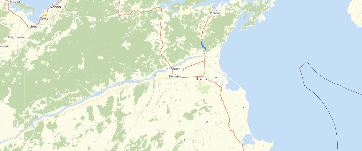 Marlborough - Discharge Permit - Water Polygon