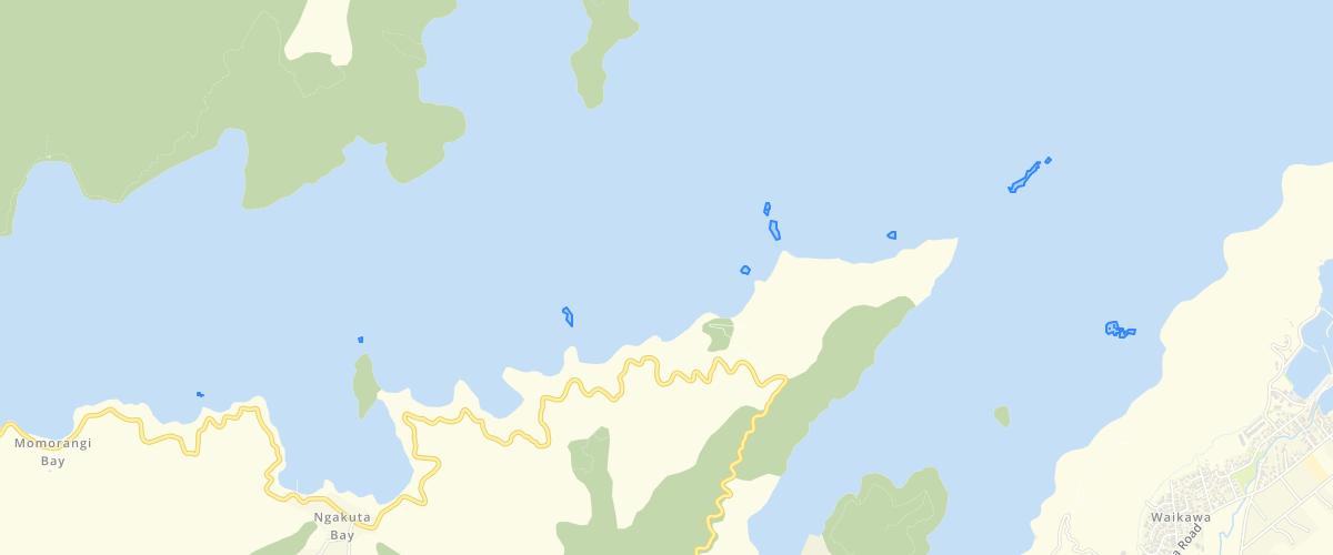 Marlborough - Multibeam - Seafloor Features