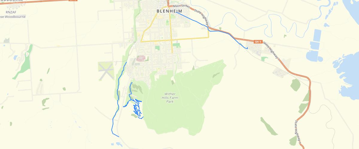 Marlborough - Walking and Cycling Tracks