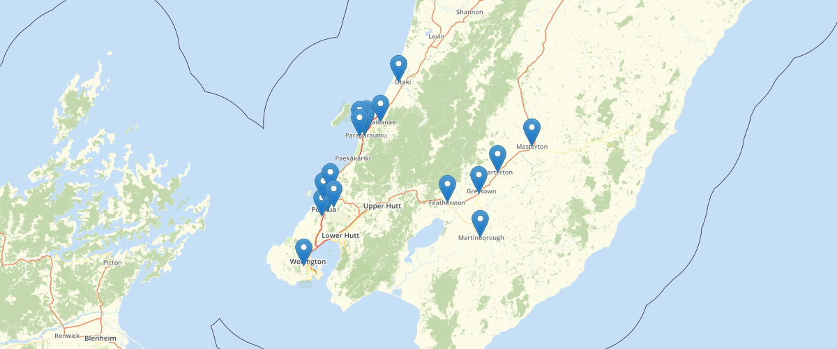 Medical Centres in the Wellington Region