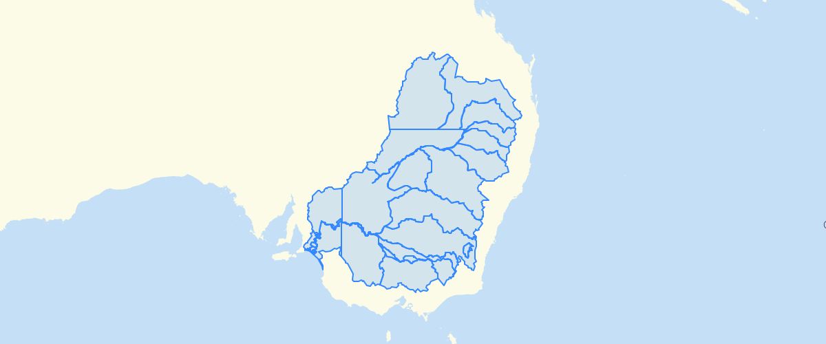 Australia - Murray-Darling Basin Water Resource Plan Areas – Surface Water