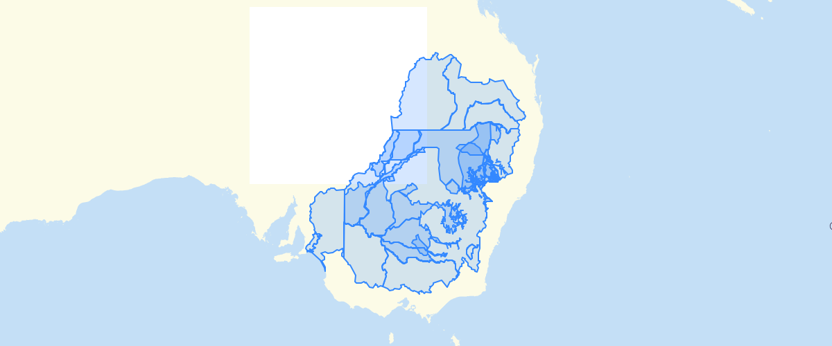 Australia - Murray-Darling Basin Water Resource Plan Areas – Groundwater