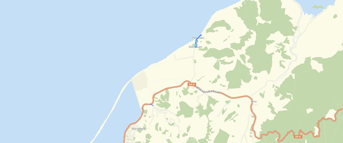 Nelson - Sea Level Rise - Aep 1 pct 130