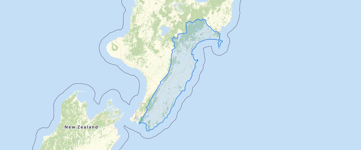 Ngati Kahungunu ki Wairoa Area